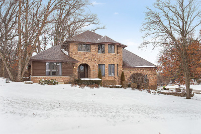 Homer Glen Single Family Home For Sale: 14900 South Woodcrest Avenue