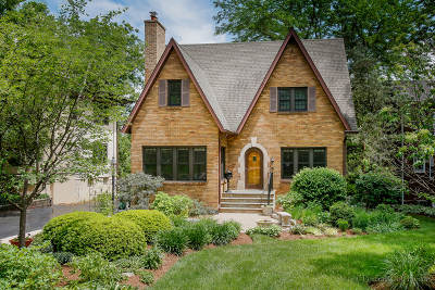 Glen Ellyn Single Family Home For Sale: 603 North Park Boulevard