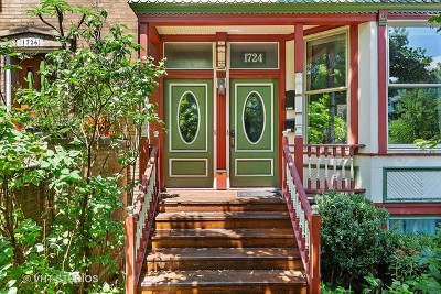 Chicago Multi Family Home For Sale: 1724 West Fletcher Street