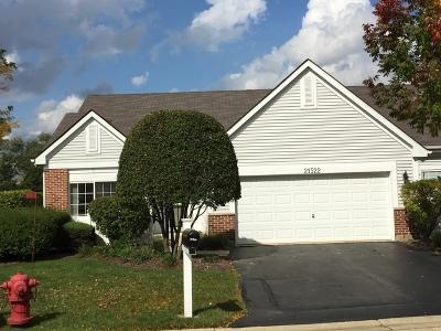 Plainfield Condo/Townhouse For Sale: 21522 West Douglas Court