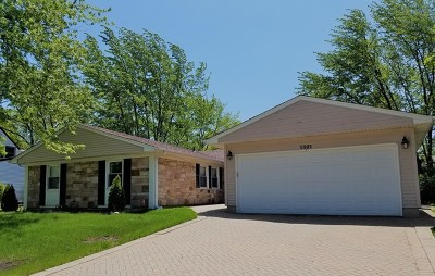 Schaumburg Single Family Home Re-Activated: 1801 Cambourne Lane