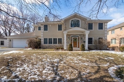 Glenview Single Family Home For Sale: 920 Arbor Lane