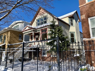 Multi Family Home Contingent: 3518 West Shakespeare Avenue
