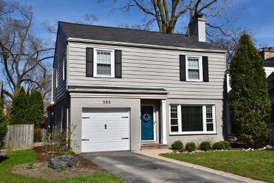 Highland Park Single Family Home Price Change: 525 Pleasant Avenue