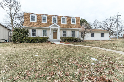 Glen Ellyn Single Family Home For Sale: 274 Sheffield Lane