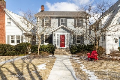 Evanston Single Family Home For Sale: 3025 Park Place