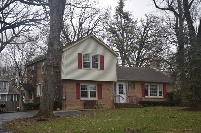 West Chicago Single Family Home Price Change: 305 West Hawthorne Lane