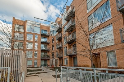 Evanston Condo/Townhouse For Sale: 1720 Oak Avenue #502