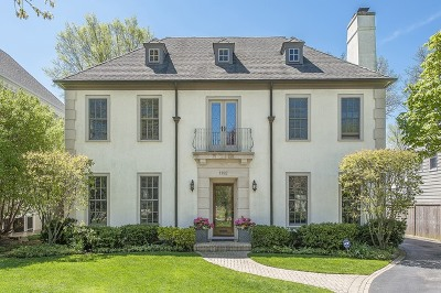 Winnetka Single Family Home For Sale: 1182 Asbury Avenue