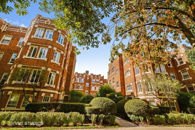 Evanston Condo/Townhouse For Sale: 606 Michigan Avenue #1