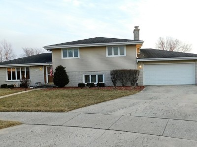 Orland Park Single Family Home For Sale: 7749 Sequoia Court