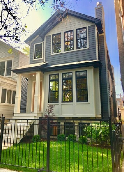 Single Family Home For Sale: 1129 West Wolfram Street