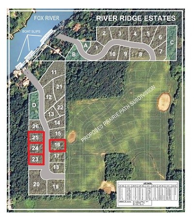 Algonquin  Residential Lots & Land For Sale: 1841 North River Lot 25 Road
