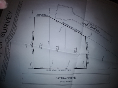 Algonquin  Residential Lots & Land For Sale: 1195 Rattray Drive