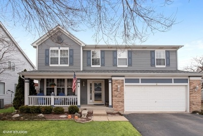 South Elgin Single Family Home Contingent: 9 Thorndale Court