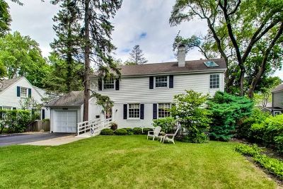 Highland Park Single Family Home For Sale: 1633 Ravine Lane