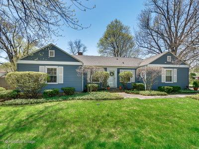 Wilmette Single Family Home For Sale: 842 Leyden Lane