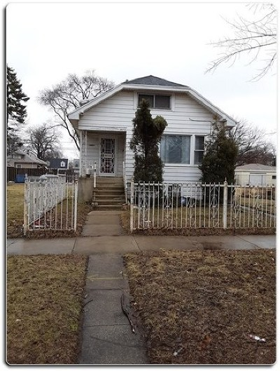 Chicago Single Family Home For Sale: 12447 South Stewart Avenue
