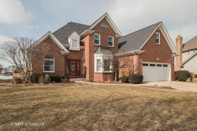 Plainfield Single Family Home Price Change: 13248 Lakepoint Drive