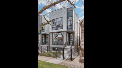 Single Family Home Price Change: 1638 North Mozart Street