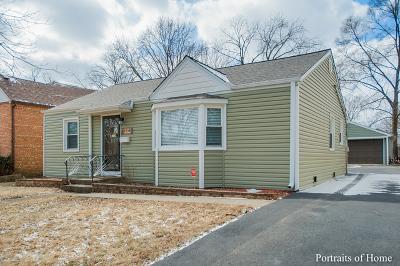 Villa Park Single Family Home Contingent: 224 North Princeton Avenue
