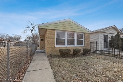 Single Family Home Re-Activated: 1249 West 110th Street