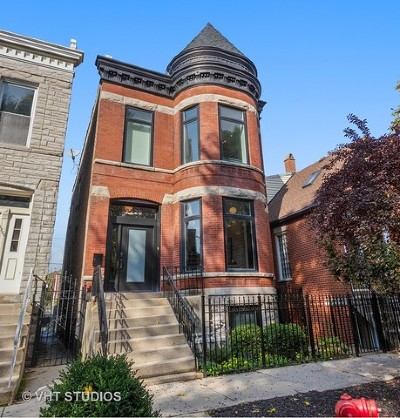 Chicago Single Family Home For Sale: 2226 West Homer Street