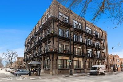 Condo/Townhouse For Sale: 2735 West Armitage Avenue #207