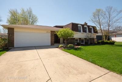 Wheaton Single Family Home Price Change: 1514 Coloma Place