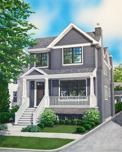 Single Family Home For Sale: 2615 North Bosworth Avenue