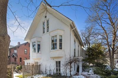 Hinsdale Single Family Home For Sale: 402 South Washington Street