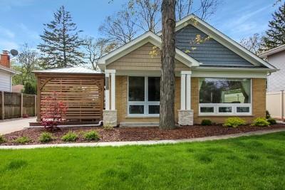 Glenview Single Family Home For Sale: 1616 Magnolia Street