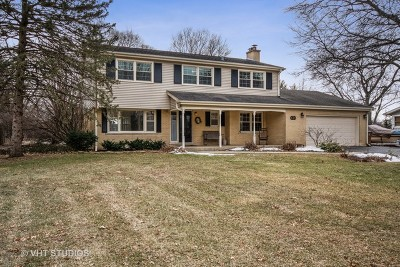Glen Ellyn Single Family Home For Sale: 22w679 Poplar Road