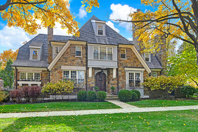 Glen Ellyn, Wheaton, Lombard, Winfield, Elmhurst, Naperville, Downers Grove, Lisle, St. Charles, Warrenville, Geneva, Hinsdale Single Family Home For Sale: 401 South Lincoln Street