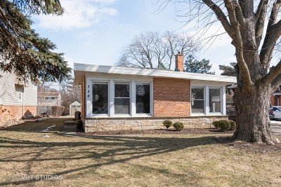 Wilmette Single Family Home Price Change: 730 Lawler Avenue