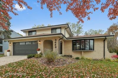 Burr Ridge Single Family Home For Sale: 8448 Clynderven Road