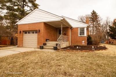 Homewood Single Family Home For Sale: 18351 Homewood Avenue