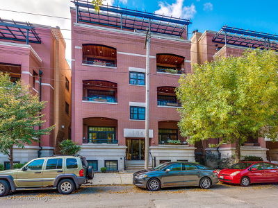 Condo/Townhouse For Sale: 106 South Sangamon Street #4S
