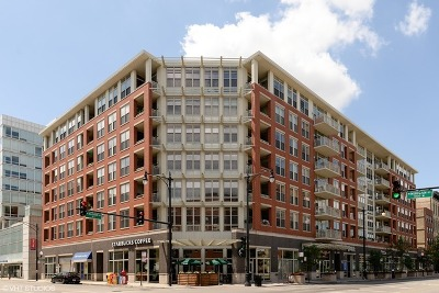 Condo/Townhouse For Sale: 1001 West Madison Street #204