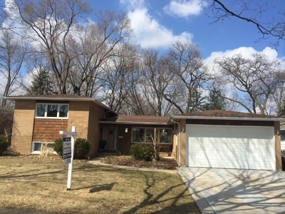 Palatine Single Family Home Price Change: 614 South Bennett Avenue