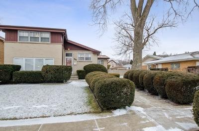 Skokie Single Family Home For Sale: 7442 Lowell Avenue
