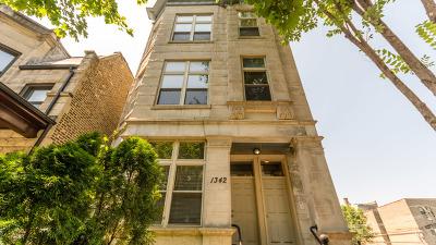 Condo/Townhouse For Sale: 1342 North Claremont Avenue #3F