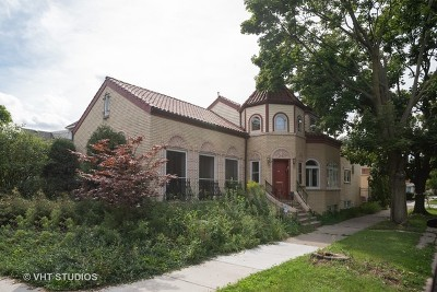 Chicago Single Family Home New: 6658 North Fairfield Avenue