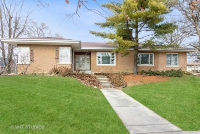 Flossmoor Single Family Home For Sale: 2147 Vardon Lane