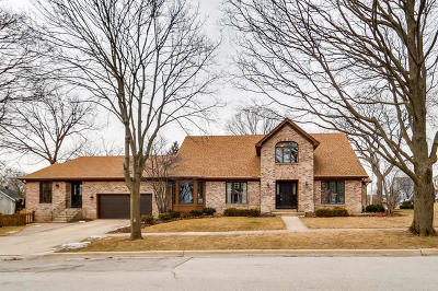 Wheaton Single Family Home For Sale: 615 East Liberty Drive
