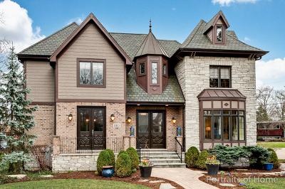 Glen Ellyn Single Family Home For Sale: 883 Hill Avenue