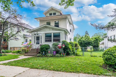 Oak Park Single Family Home For Sale: 824 Wisconsin Avenue