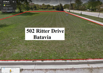 Kane County Residential Lots & Land For Sale: 502 Ritter Drive
