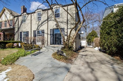 Wilmette Single Family Home For Sale: 2120 Beechwood Avenue