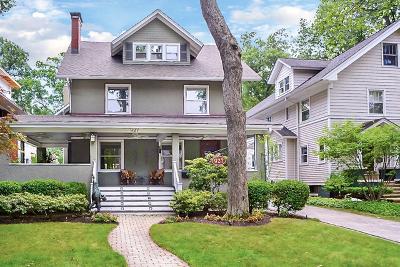Wilmette Single Family Home For Sale: 927 Ashland Avenue